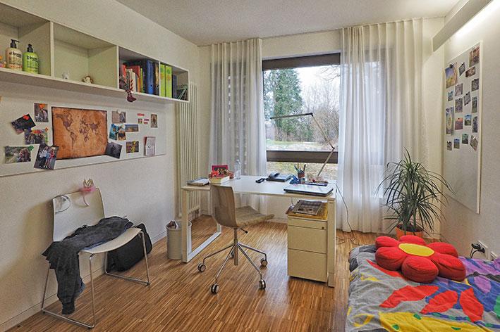 Unterkunft im wohnheim ambrosianum t bingen for Zimmer tubingen